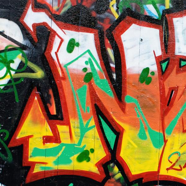"""""""N"""" graffiti"""