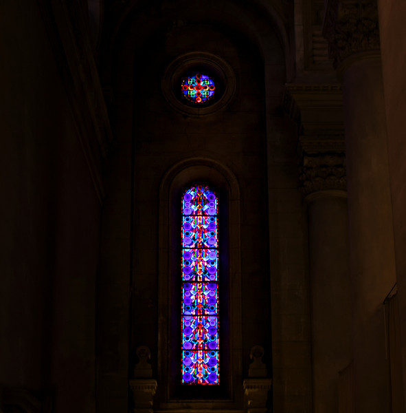 """I"" inside a small church"