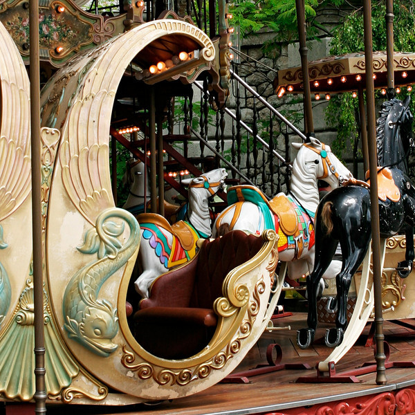 """""""C"""" A carousel in Montmartre."""
