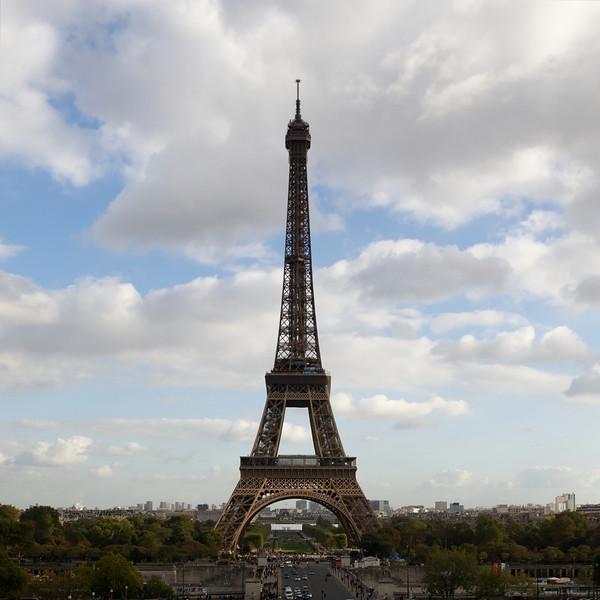 """""""A"""" Eiffel Tower daytime"""