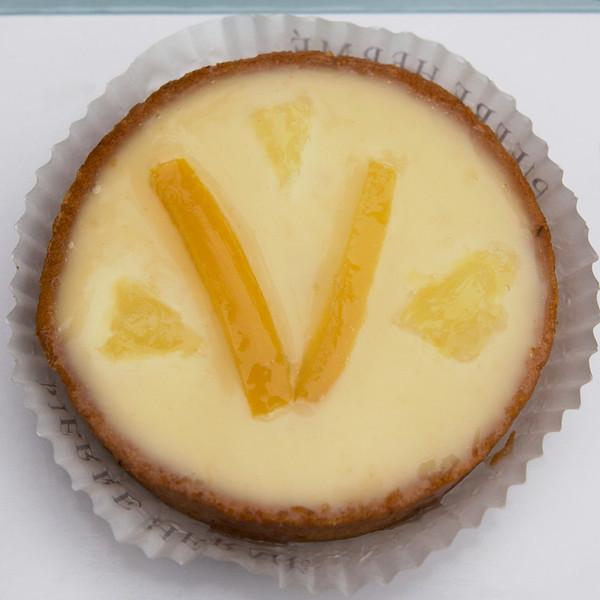 """V"" tarte au citron"