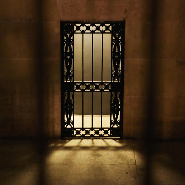 """""""H"""" door inside the Arc de Triomphe"""