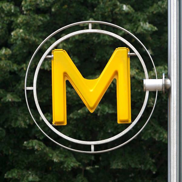 """""""M"""" as in """"metro"""""""