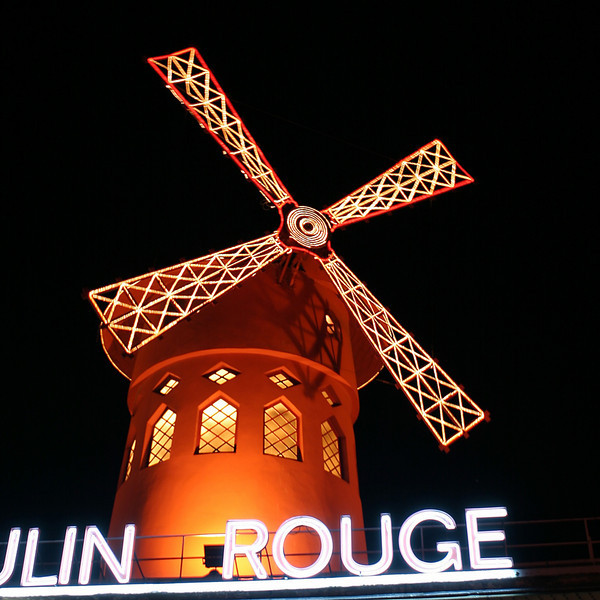 """X"" The famous Moulin Rouge at Pigalle reminds us that ""x"" isn't what it used to be."
