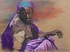 17 Getraumatiseerde vrouw  Rwanda  pastel,96