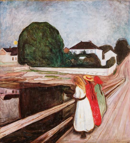 "Munch: ""Girls on the Bridge"""