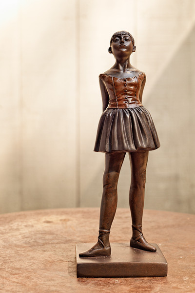 "Degas: ""Little Dancer of 14 Years"" statue"