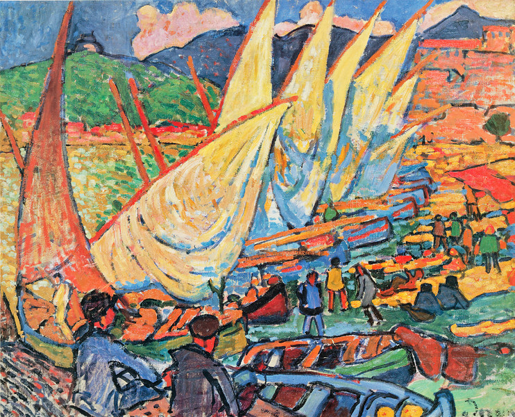 "Derain: ""Fishing Boats, Collioure"""