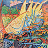 "Derain: ""Fishing Boats, Collioure"""
