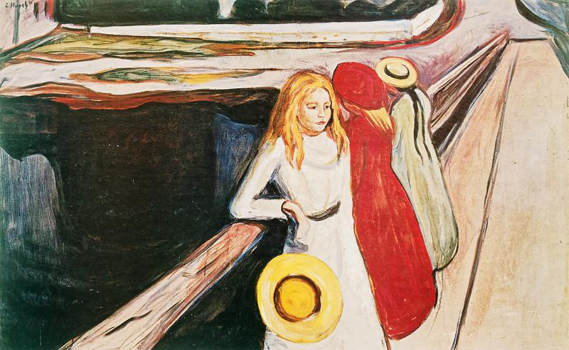 "Munch: ""Girls on the Jetty"""