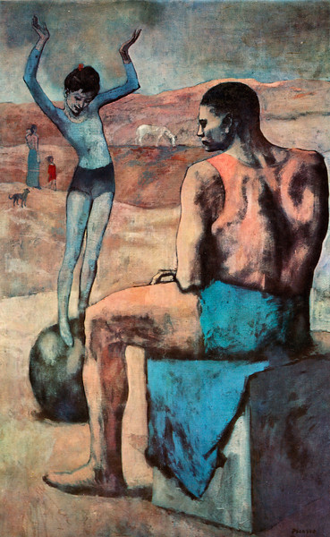 "Picasso: ""Acrobat on a Ball"""
