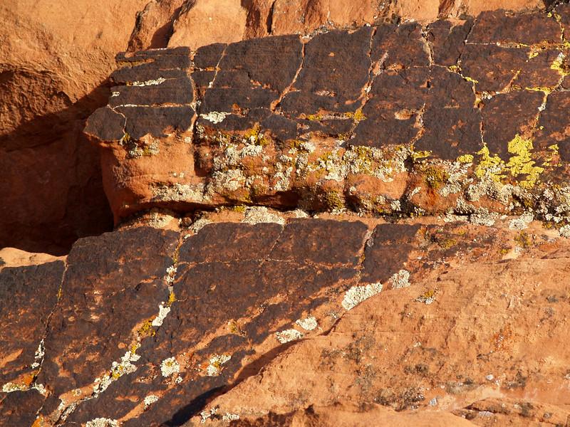 LEGIONAIRES Red sandstone; Mohave desert, Nevada.  2005