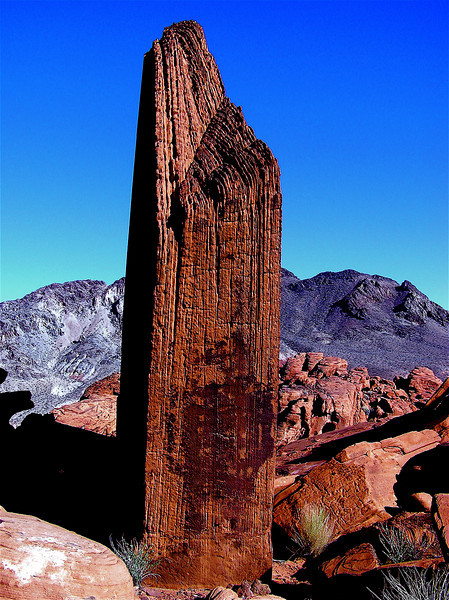 Gothic Spire. North of Lake Mead. Mojave Desert. Nevada. 2004