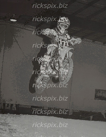 Rider #171 - Hindsight Motocross indoor track. This is a low resolution of the original poster (4' x 6'), so you won't see the detail of each individual image.