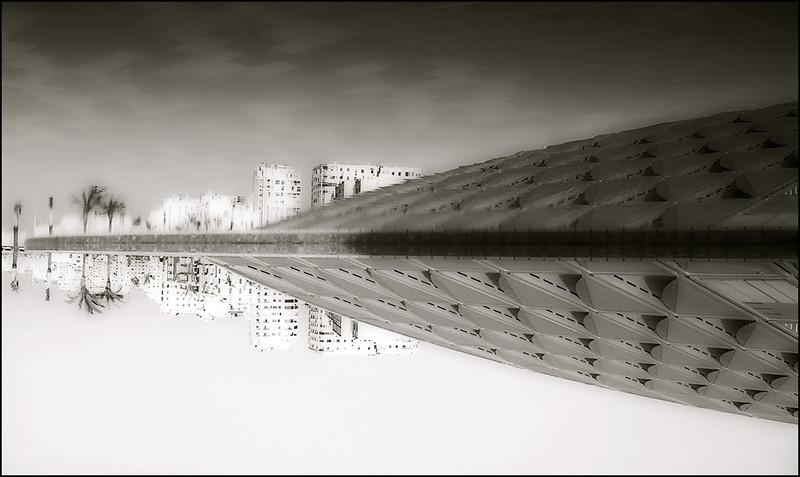 """BIBLIOTHECA ALEXANDRINA MIRROR"", Alexandria (EGYPT), 2005.<br /> Ordering Reference: Urban Arch-EG-01"