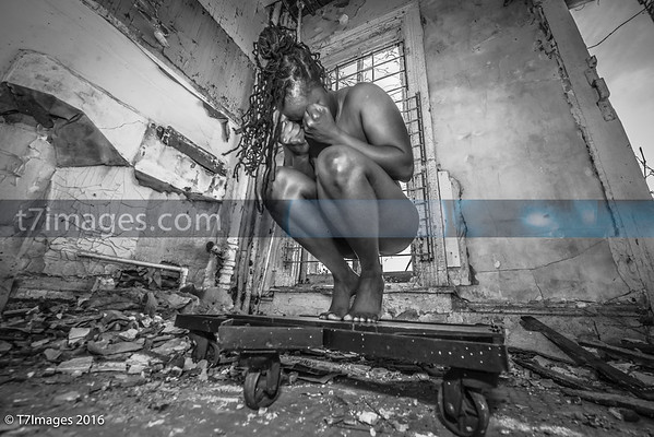 "Fine Art: ""Analogous""- with Model Michelle Smith Set design by Da'Rrell Privott -T7Images"