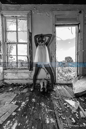 "Fine Art: ""Eternity""  - Model Corshay Blake, Set design by Da'Rrell Privott -T7Images,LLC"