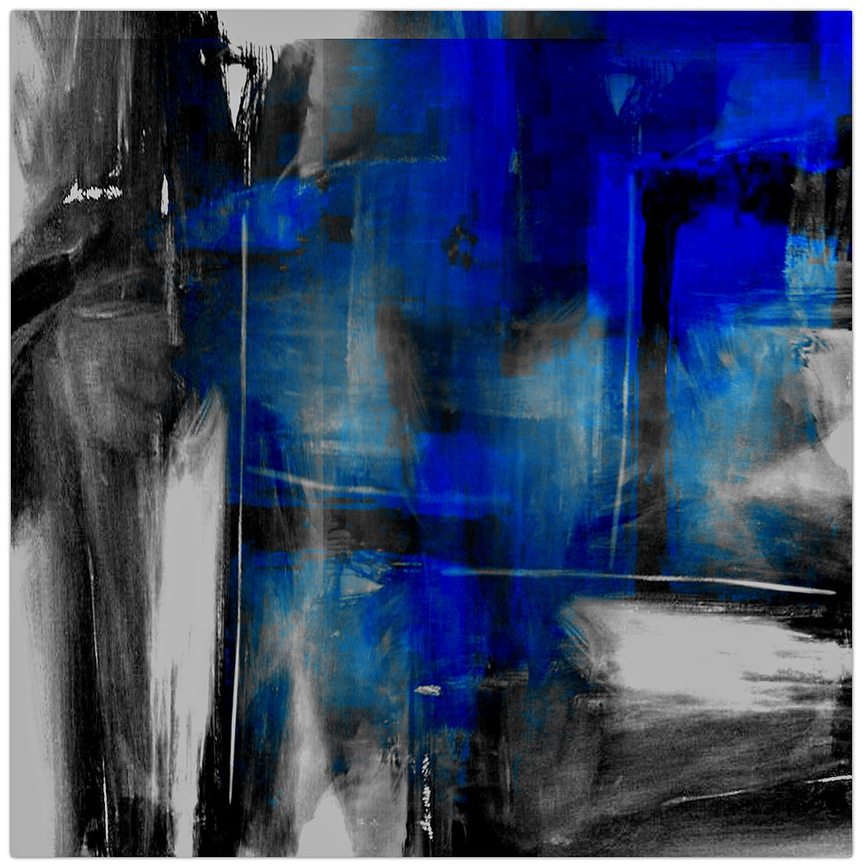 Blue II - Homage to Yves Klein