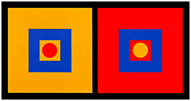 Pop Art Piece #3 Square and Circles