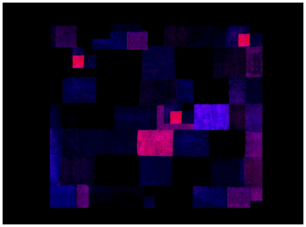 Night Harbour (Homage to Paul Klee)