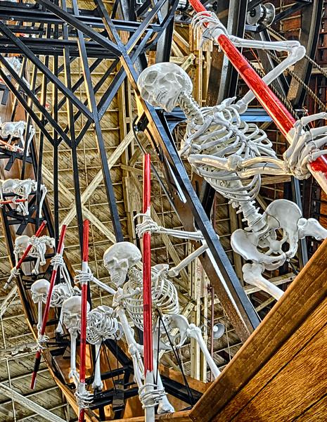 'Charon' by Paul Hudson - Treasure Island, San Francisco, CA - Presented at Burning Man
