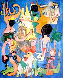 Jose Fuster Art - Private Collection....Not for Sale