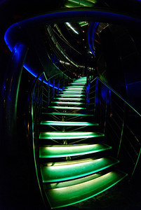 Well Lit Stairs