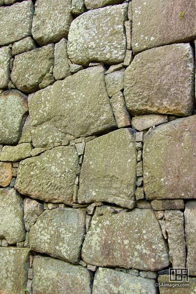 Stone wall of Nijo Castle, Kyoto, Japan