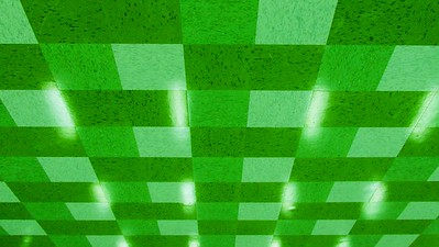 Pattern and Reflections - Green