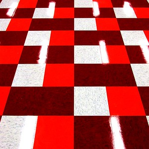 Pattern and Reflections - Red