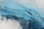Icy Blue Abstract