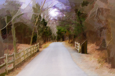 trail, linear trail, wallingford, wallyworld,  the wallingford linear trail, art, picture, painting, abstract, pastel,