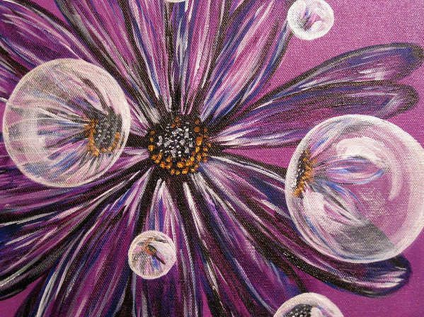 Purple Flower-SOLD