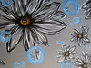 Grey Flowers-SOLD