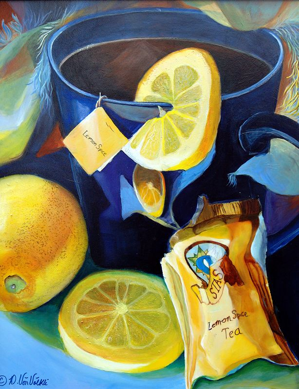 """Lemon Spice""  16 x 20 Acrylic on Masonite"