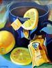 """""""Lemon Spice""""  16 x 20 Acrylic on Masonite"""