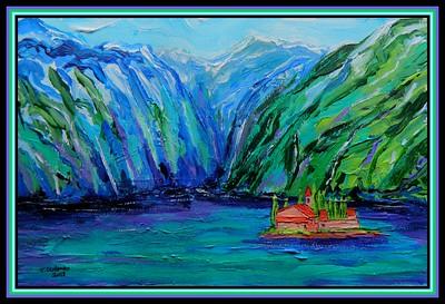 1-Bay of Kotar, Montenegro, 190x280, acrylic on paper, oct 23, 2018 adopted Marina Durovic,  Niksic, Montenegro, nov 13, 2018 DSCN9993A