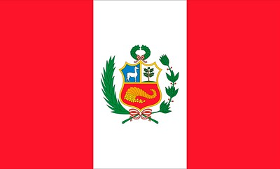 Flag of Peru - July 17, 2018