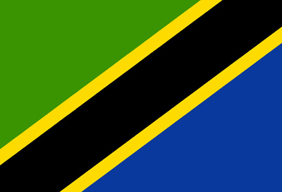 Flag of Tanzania - June 2, 2018