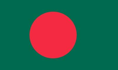 Flag of Bangladesh - July 16, 2018