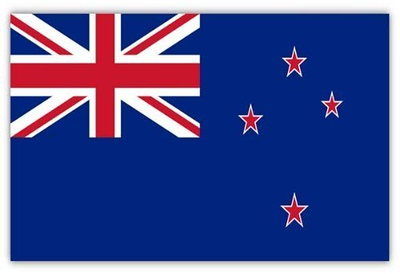 Flag of New Zealand - August 27, 2018