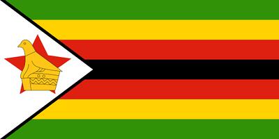 Flag of Zimbabwe - July 23, 2018