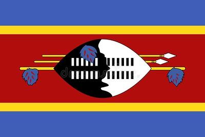 flag of Swaziland - September 27, 2017