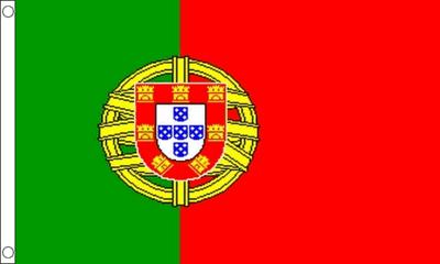 Flag of Portugal - September 20, 2018