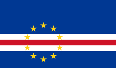 Flag of Cape Verde - September 27, 2018
