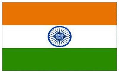 Flag of India - May 11, 2018