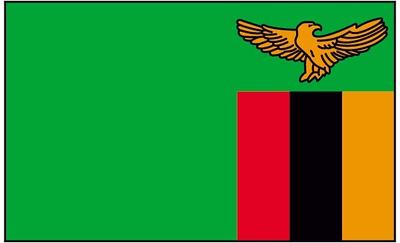 Flag of Zambia - July 11, 2018