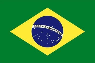 Flag of Brazil - July 19, 2018