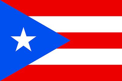 Flag of Puerto Rico - September 29, 2018