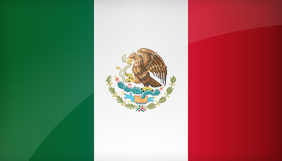 Flag of Mexico - July 18, 2018